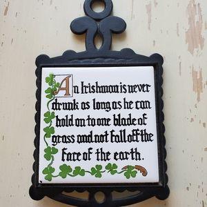Irish Proverb Wall Art